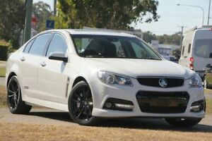 2014 Holden Commodore VF MY14 SS V Redline White 6 Speed Manual Sedan Caloundra West Caloundra Area Preview