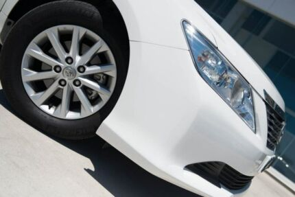 2013 Toyota Aurion GSV50R AT-X White 6 Speed Sports Automatic Sedan Baulkham Hills The Hills District Preview