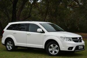2012 Dodge Journey JC MY13 SXT White 6 Speed Automatic Wagon St Marys Mitcham Area Preview