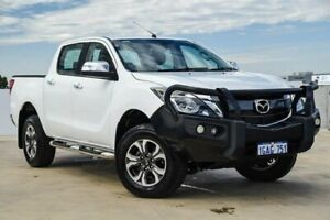 2015 Mazda BT-50 UP0YF1 GT Cool White 6 Speed Manual Utility Osborne Park Stirling Area Preview