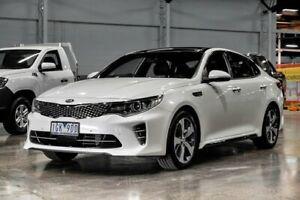 2015 Kia Optima JF MY16 GT White 6 Speed Sports Automatic Sedan Wendouree Ballarat City Preview