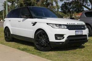 2014 Land Rover Range Rover Sport L494 MY14.5 SDV6 CommandShift SE White 8 Speed Sports Automatic Rockingham Rockingham Area Preview