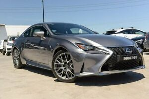 2016 Lexus RC GSC10R RC350 F Sport Silver 8 Speed Sports Automatic Coupe