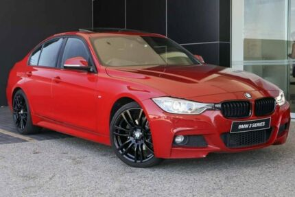 2015 BMW 320d F30 MY1114 M Sport Melbourne Red 8 Speed Sports Automatic Sedan Wangara Wanneroo Area Preview