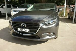 2017 Mazda 3 BN5478 Maxx SKYACTIV-Drive Grey 6 Speed Sports Automatic Hatchback East Maitland Maitland Area Preview