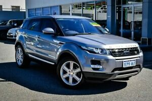 2014 Land Rover Range Rover Evoque L538 MY15 TD4 Prestige Grey 9 Speed Sports Automatic Wagon