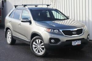 2010 Kia Sorento XM MY11 Platinum Silver 6 Speed Sports Automatic Wagon Watsonia Banyule Area Preview