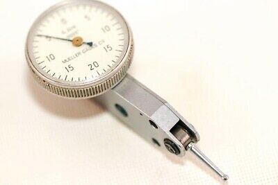 Mueller Gages Type 301k Test Dial Indicator With Dovetails Precision 0.0005 B