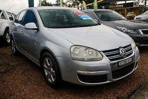 2006 Volkswagen Jetta 1KM MY07 Turbo DSG Silver 6 Speed Sports Automatic Dual Clutch Sedan Colyton Penrith Area Preview