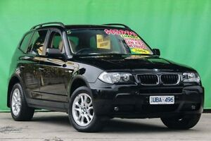 2006 BMW X3 E83 MY07 si Steptronic Black 6 Speed Sports Automatic Wagon Ringwood East Maroondah Area Preview