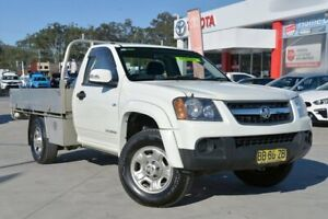 2009 Holden Colorado RC MY09 LX (4x2) White 4 Speed Automatic Cab Chassis Gosford Gosford Area Preview