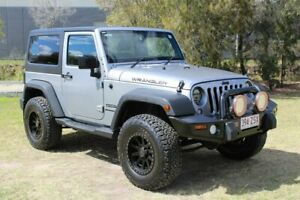 2014 Jeep Wrangler JK MY2015 Sport Silver 6 Speed Manual Softtop Ormeau Gold Coast North Preview