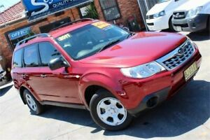 2011 Subaru Forester MY11 X Red 5 Speed Manual Wagon