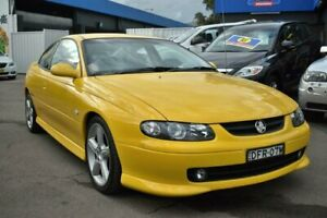 2002 Holden Monaro V2 CV8 Yellow 6 Speed Manual Coupe Liverpool Liverpool Area Preview