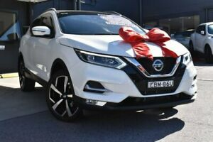 2019 Nissan Qashqai J11 Series 2 Ti X-tronic White 1 Speed Constant Variable Wagon Pennant Hills Hornsby Area Preview