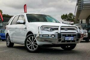 2015 Ford Territory SZ MK2 Titanium (4x4) White 6 Speed Automatic Wagon