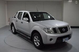 2013 Nissan Navara D40 S6 MY12 ST Silver 5 Speed Sports Automatic Utility Invermay Launceston Area Preview