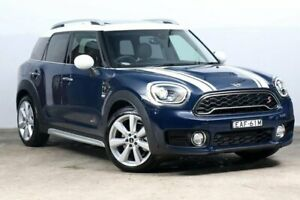 2018 Mini Countryman F60 Cooper SD Steptronic ALL4 MINI Yours Lapis Luxury Blue 8 Speed Darlinghurst Inner Sydney Preview
