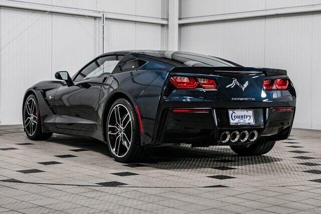 2015 Black Chevrolet Corvette Stingray Z51   C7 Corvette Photo 6