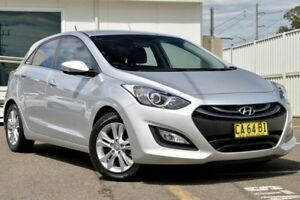 2014 Hyundai i30 GD MY14 Elite Silver 6 Speed Sports Automatic Hatchback Gosford Gosford Area Preview