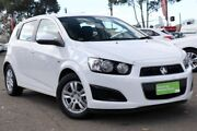 2016 Holden Barina TM MY16 CD White 6 Speed Automatic Hatchback Condell Park Bankstown Area Preview