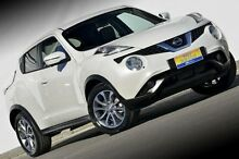 2015 Nissan Juke F15 Series 2 Ti-S X-tronic AWD White 1 Speed Constant Variable Hatchback Ferntree Gully Knox Area Preview