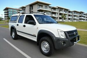 2007 Holden Rodeo RA MY07 LX Crew Cab White 4 Speed Automatic Utility Somerton Park Holdfast Bay Preview