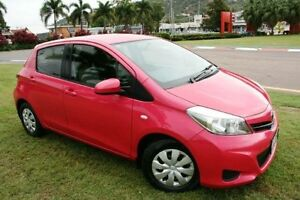 2013 Toyota Yaris NCP130R YR Pink 4 Speed Automatic Hatchback Townsville Townsville City Preview