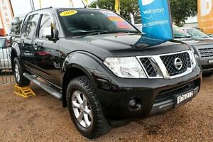 2010 Nissan Navara D40 MY10 ST-X Black 6 Speed Manual Utility Colyton Penrith Area Preview