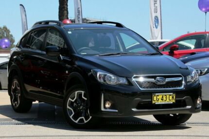 2015 Subaru XV MY16 2.0I-L Black Continuous Variable Wagon