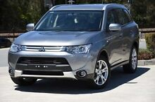 2014 Mitsubishi Outlander ZJ MY14.5 ES 4WD Grey 6 Speed Constant Variable Wagon Helensvale Gold Coast North Preview