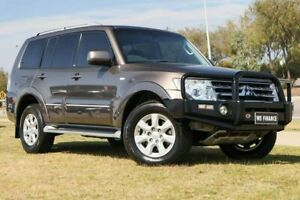 2011 Mitsubishi Pajero NT MY11 30th Anniversary Brown 5 Speed Sports Automatic Wagon