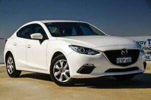 2014 Mazda 3 BM5278 Neo SKYACTIV-Drive Snowflake White Pearl 6 Speed Sports Automatic Sedan Osborne Park Stirling Area Preview