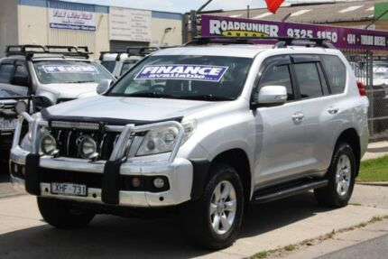 2009 Toyota Landcruiser Prado KDJ150R GXL Silver 5 Speed Sports Automatic Wagon Altona North Hobsons Bay Area Preview