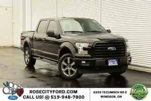 2016 Ford F-150 XLT Sport / 4x4 / Accident Free / Backup Cam