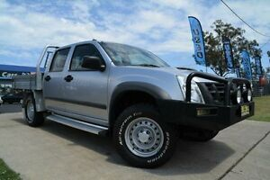 2011 Isuzu D-MAX TF MY10 SX (4x4) Silver 5 Speed Manual Crewcab Mulgrave Hawkesbury Area Preview