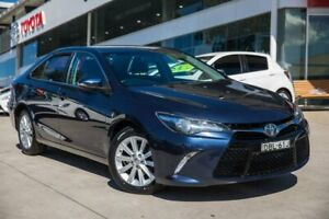 2015 Toyota Camry ASV50R Atara S Blue 6 Speed Sports Automatic Sedan Castle Hill The Hills District Preview