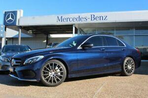 2017 Mercedes-Benz C250 W205 807+057MY 9G-Tronic Cavansite Blue 9 Speed Sports Automatic Sedan Port Macquarie Port Macquarie City Preview