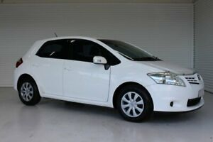 2011 Toyota Corolla ZRE152R MY11 Ascent White 4 Speed Automatic Hatchback Parramatta Park Cairns City Preview