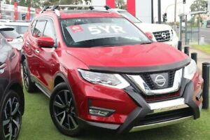 2019 Nissan X-Trail T32 Series II Ti X-tronic 4WD Red 7 Speed Constant Variable Wagon Watsonia Banyule Area Preview