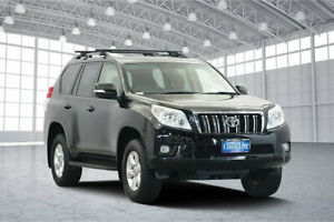 2013 Toyota Landcruiser Prado KDJ150R GXL Black 5 Speed Sports Automatic Wagon