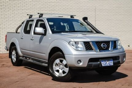 2011 Nissan Navara D40 ST Silver 6 Speed Manual Utility Bayswater Bayswater Area Preview