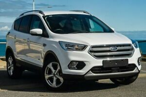 2017 Ford Escape ZG 2018.00MY Trend PwrShift AWD White 6 Speed Sports Automatic Dual Clutch Wagon Christies Beach Morphett Vale Area Preview