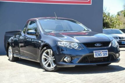 2011 Ford Falcon FG XR6 Ute Super Cab Turbo Grey 6 Speed Sports Automatic Utility Morley Bayswater Area Preview