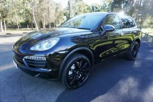 2012 Porsche Cayenne 92A MY12 S Tiptronic Black 8 Speed Sports Automatic Wagon Old Guildford Fairfield Area Preview