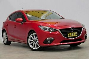 2013 Mazda 3 BL10L2 MY13 SP25 Red 6 Speed Manual Sedan Seven Hills Blacktown Area Preview