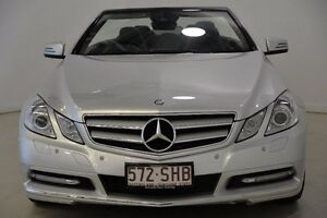 2011 Mercedes-Benz E250 A207 MY12 BlueEFFICIENCY 7G-Tronic + Avantgarde Silver 7 Speed