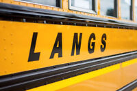 Now hiring SCHOOL BUS DRIVERS in Woodstock and surrounding areas