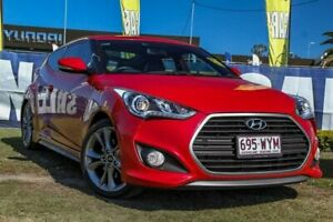2015 Hyundai Veloster FS4 Series II SR Coupe D-CT Turbo + Red 7 Speed Sports Automatic Dual Clutch Aspley Brisbane North East Preview