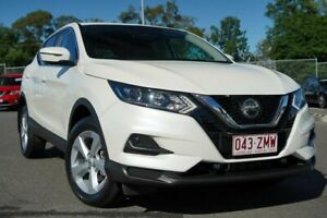 2019 Nissan Qashqai J11 Series 3 MY20 ST X-tronic White 1 Speed Constant Variable Wagon Hillcrest Logan Area Preview